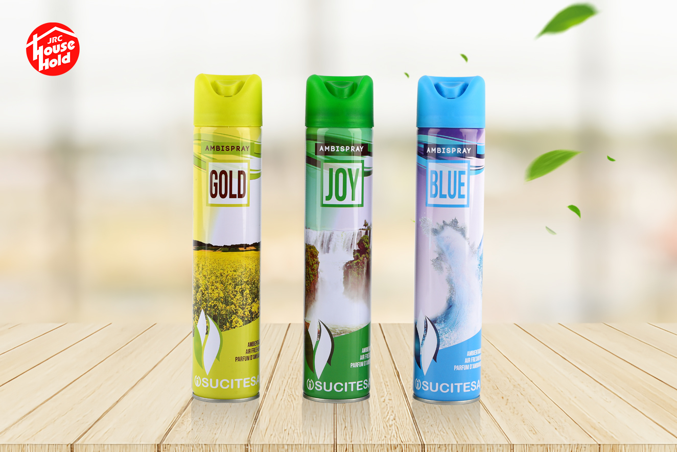 variety of fragrance aerosol spray flower air freshener