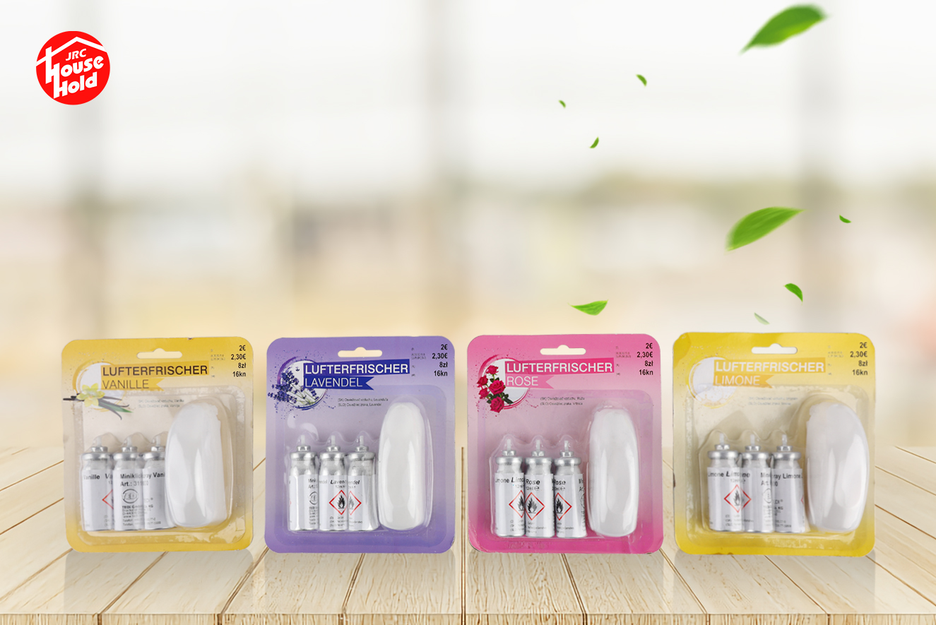 Mini spray freshener 3 packs for easy carryin