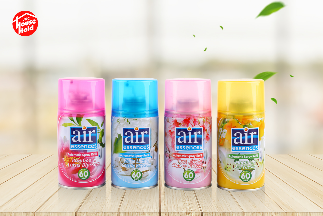 Automatic scenting agent, air freshener, various aromas