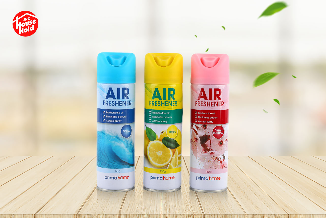 Air freshener spray 150 ml 3 different flavors